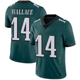 Mike Wallace Men's Philadelphia Eagles Midnight 100th Vapor Jersey - Limited Green