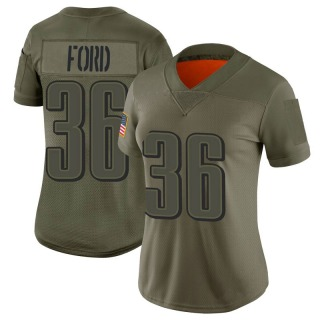 Rudy Ford Women's Philadelphia Eagles Nike 2019 Salute to Service Jersey - Limited Camo